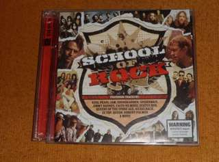 OST CD Soundtrack - School of Rock Musical