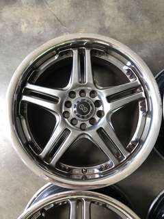 Rim 17 inch caldina altis wish subaru civic lancer