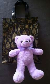 Princess 💜Purple Lilac  teddy bear