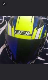 分享  【SOL SF-2M 新世紀彩繪】全罩式安全帽