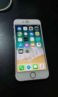 2nd iphone 6s 64gb rose gold mulus