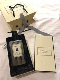 Jo Malone Lime Basil & Mandarin Body & Hand Wash Gel 連盒連紙袋