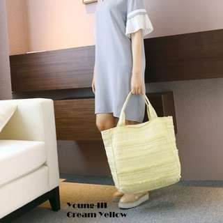 Young-III Lace Tote Bag
