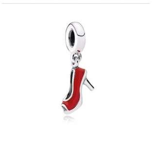 Red Stiletto Pandora Charm
