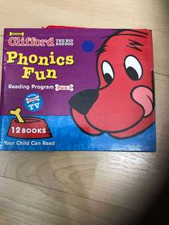 Brand new clifford books- unopened