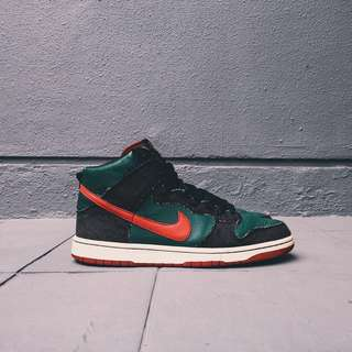"RESN x Nike Dunk High SB ""Gucci"""