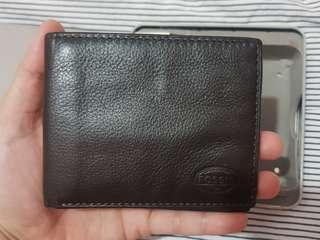 Preloved Fossil Bifold wallet