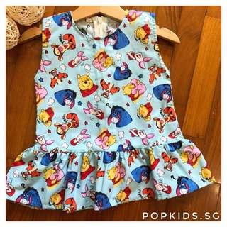 🍯Winnie The Pooh Peplum Dress 🍯