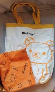 Rilakkuma 鬆弛熊 輕鬆熊 雙面環保袋 shopping bag