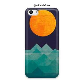 Premium sunset sunrise hard/softcase(bs custom)