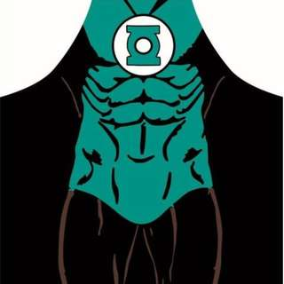 Green Latern DC Comics Superhero Apron