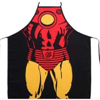 Iron Man Marvel Superhero Party Kitchen Apron