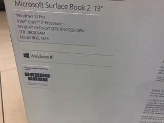 Surface book 2 13inch
