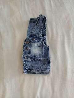 vest jeans wanita