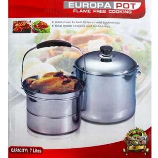 Europa Pot Izzy Cook Alat Masak Di Dapur Praktis Memasak Matang Merata