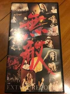 X-Japan 無敵 EXTASY 錄影帶 yoshiki toshi Hide Taiji Pata
