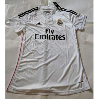 Cheap New Old Stock Real Madrid Girls Jersey Size L p2p 44cm