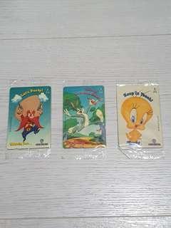 Vintage Singapore Telecom Phone Cards