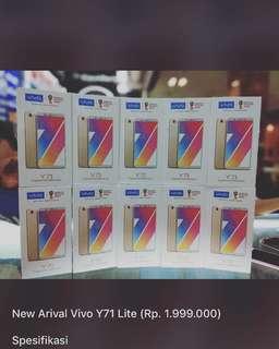 Y71 Ram 2GB tersedia terjangkau kredit 3 menit aja