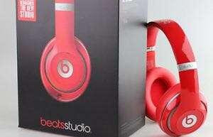 全新 未開封 即日單一年保Beats Studio 2 Wireless Red