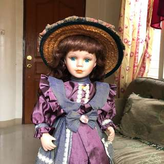Marie porcelain doll