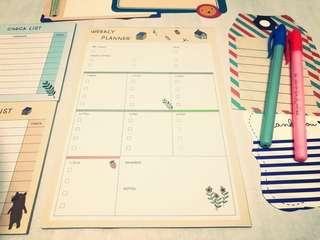 Weekly Planner Checklist