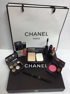 Chanel Make Up Set 9in1