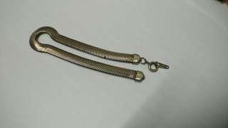 舊金屬手鍊