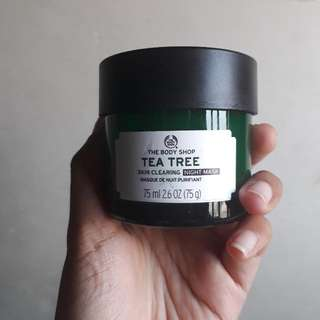 The Body Shop - Tea Trew Skin Clearing (Night Mask)