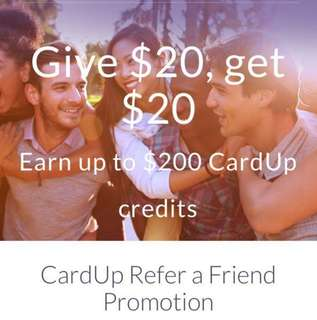 Cardup Referral Code