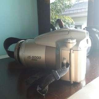 1998 Olympus iS-5000 Film Camera