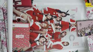Twice Christmas ver poster (rare)