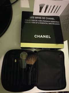 Chanel Mini Brush 6 pcs set