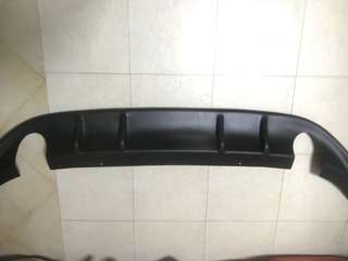 Rieger VW Mk7 Golf GTi Rear diffuser