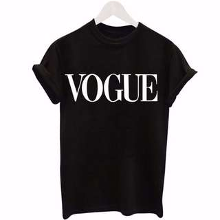 "Unisex Plain Basic ""Vogue"" Top (P.O.)"