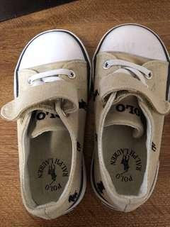 🚚 POLO童鞋(2手)..百貨購入