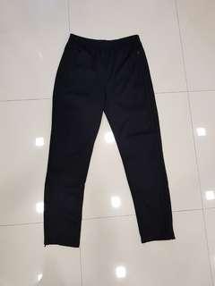 Adidas triple black track pants