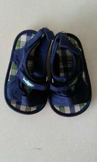 brand new baby shoes - navy blue