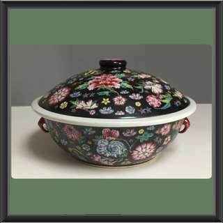 Vintage Tureen In Black Collection