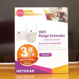 NETGEAR EX6120-100NAS AC1200 WiFi Range Extender 無線橋接中繼器