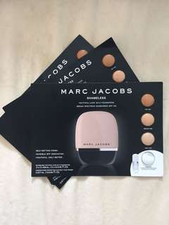 Marc jacobs shameless foundation swatch