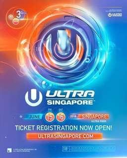 Ultra Music Festival 2018' tickets