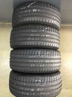 2154517 michelin pilot sport 3 used tyre 4pc $280