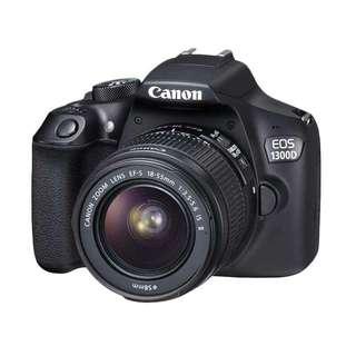 Canon 1300D bisa kredit tanpa kartu kredit