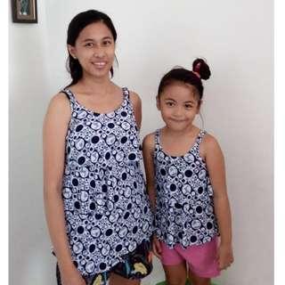 Mother and daughter maternity/nursing tops (regular)