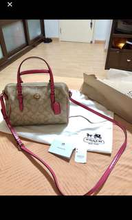Mark Down Promo!! Authenthic Coach Bag w/ dustbag &Care Card