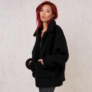 I AM GIA Black Pixie Jacket