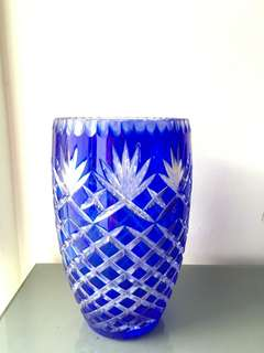 Glass Tall Vase