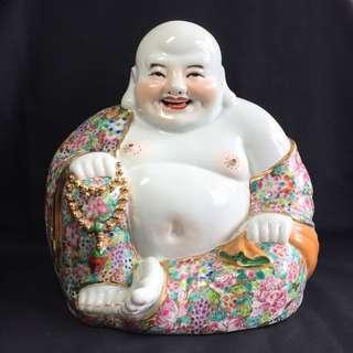 金万花笑佛Gold Mille Fleur Matrieya Buddha