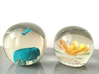 Glass 3D decor